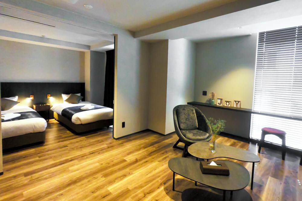 ホテルエスプレッソサウスの寝室