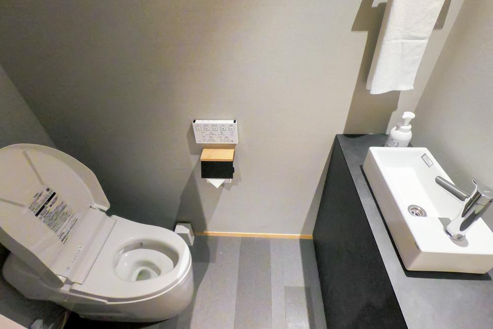 ホテルエスプレッソサウス トトイレ内